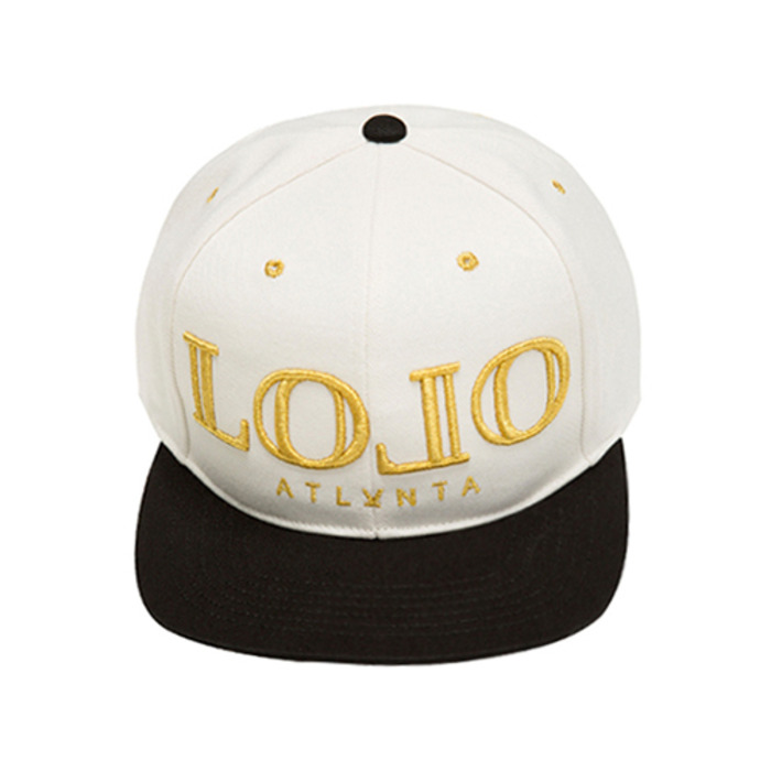 롤로, [LOLO] STRAP-BACK (DIAMOND WH/BLK) - 풋셀스토어