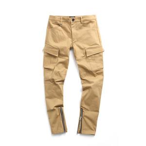 [어반스터프] USF INSIDE ZIP SLANT PANTS BEIGE, 팬츠, 긴바지