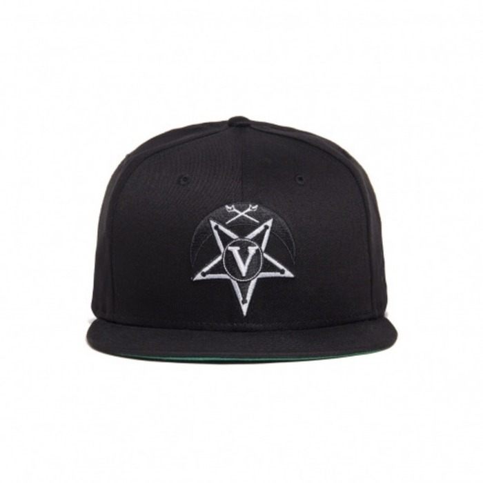 [블랙스케일]BLACK SCALE V Star Crescent New Era (Black) - 풋셀스토어