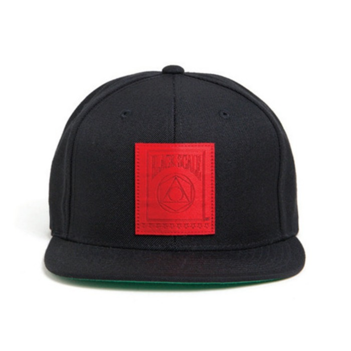 [블랙스케일]BLACK SCALE 5 Percent Snapback (Black) - 풋셀스토어