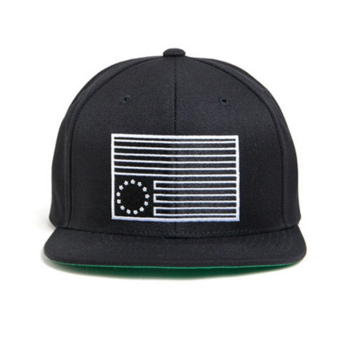[블랙스케일]BLACK SCALE Dark Rebel Snapback (Black) - 풋셀스토어