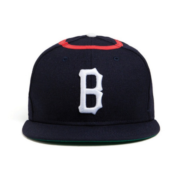 [블랙스케일]BLACK SCALE CHERUB B LOGO NEW ERA (NAVY) - 풋셀스토어