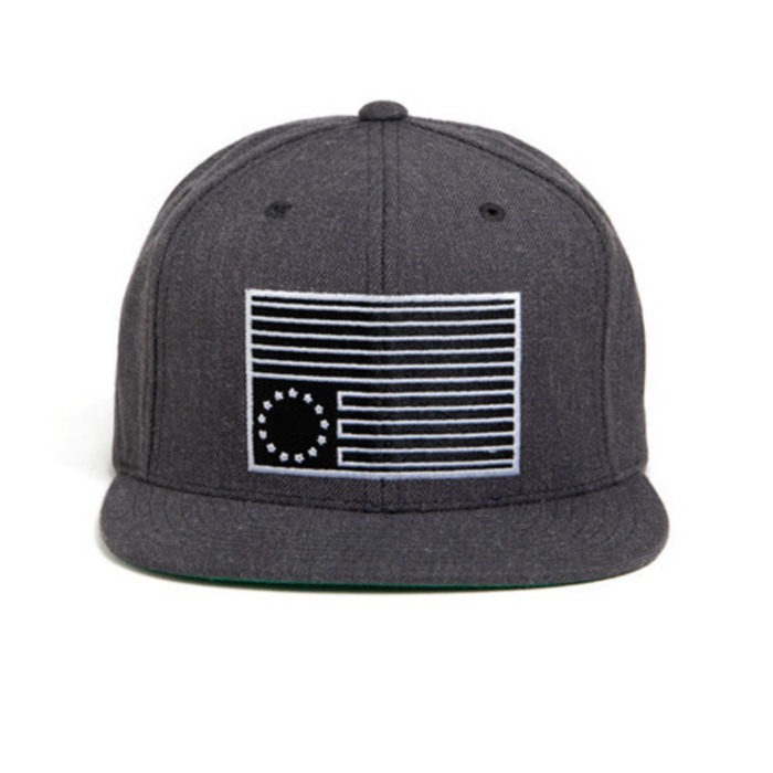 [블랙스케일]BLACK SCALE Dark Rebel Snapback (Grey) - 풋셀스토어