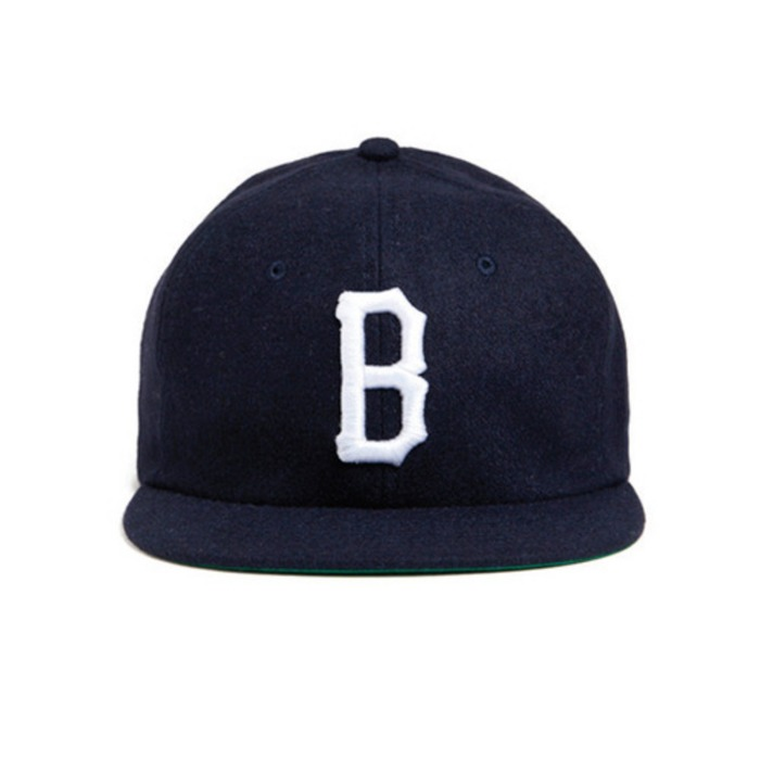 [블랙스케일]BLACK SCALE Vintage B Logo New Era Snapback (Navy) - 풋셀스토어