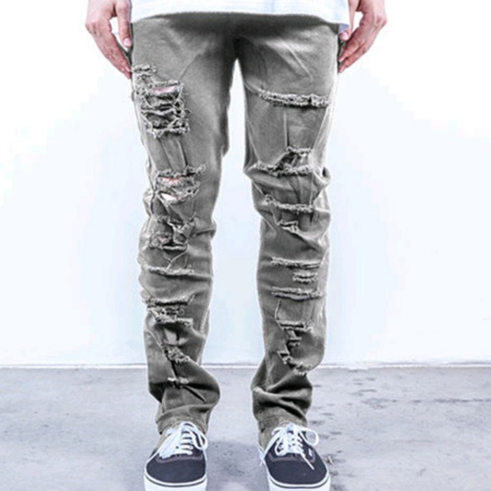[러스틱다임]RUSTIC DIME TAPER FIT SHREDDED (STONE SHREDDED) - 풋셀스토어