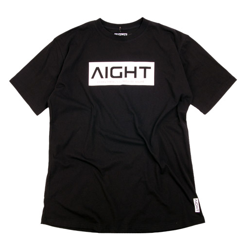 [AIGHT] 아잇 로고 반팔티(가로 로고), AIGHT LOGO SHIRT