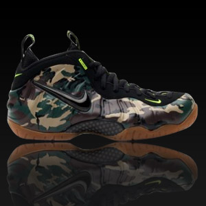 ����Ű �������� Army Camo, Nike Air Foamposite Pro, 587547-300