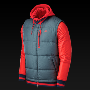 ����Ű ���Ҵ� ���� 550 3N1, AS NIKE DEFENDER JACKET - 550, 541446-495