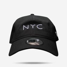 뉴에라 NYC 볼캡 (검흰), NEWERA BALL CAP