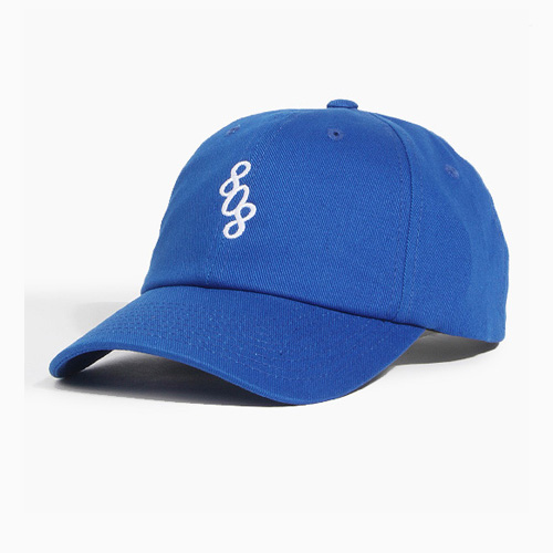 [808hats] 808 Logo Ballcap Royal, 도끼모자, 볼캡